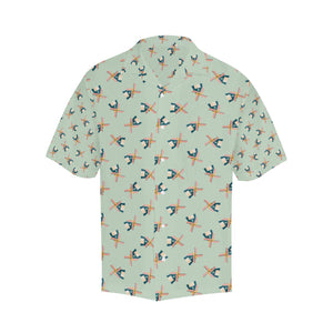 Windmill Pattern Print Design 02 Hawaiian Shirt-kunshirts.com