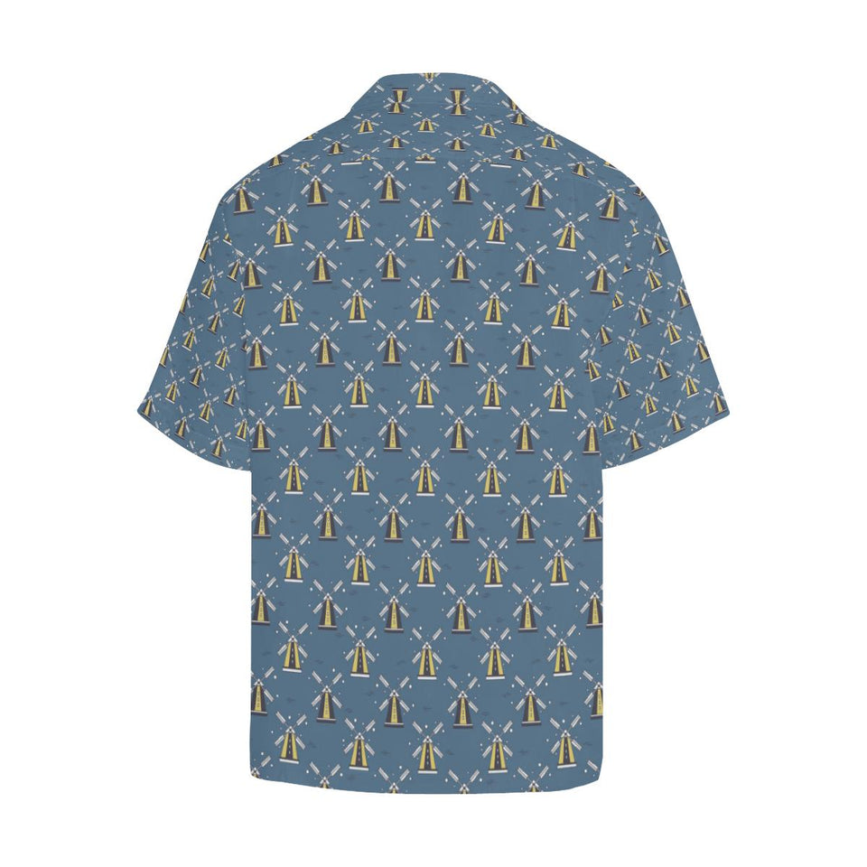 Windmill Pattern Print Design 03 Hawaiian Shirt-kunshirts.com