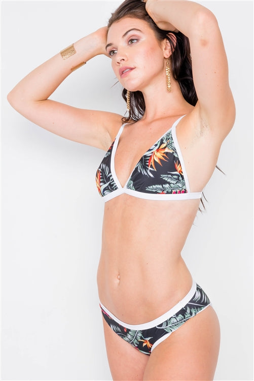 Floral Multi 2 Piece Bikini Set