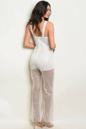 Sleeveless Halter Neck Jumpsuit
