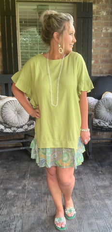 Key Lime Beauty Dress