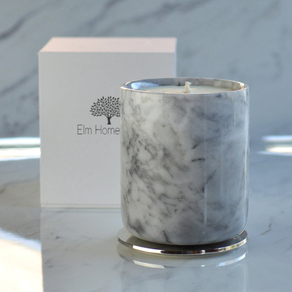 Marble Jar Scented Candle