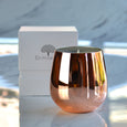Shine Jar Scented Candle Rose Gold