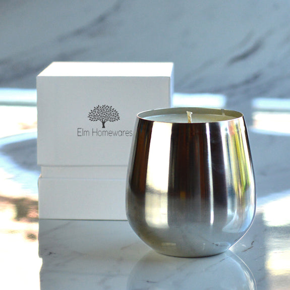 Shine Jar Scented Candle Platinum