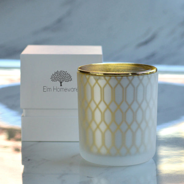 Lincoln Scented Candle Gold
