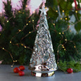 Silver LED Christmas Tree