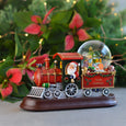 Merry Christmas Train with Snow Globe