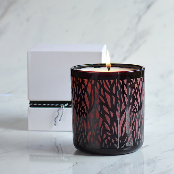 Into The Woods Scented Candle Red