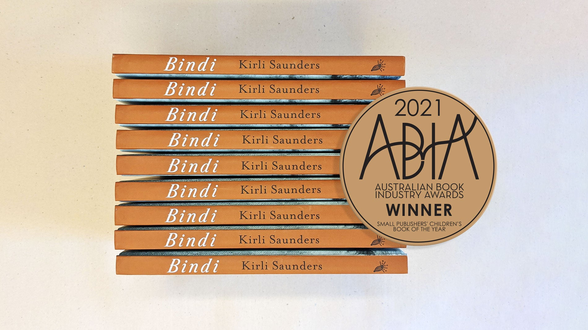 Magabala Books is thrilled to announced that Bindi by Kirli Saunders has won the 2021 Australian Book Industry Award for Small Publishers' Children's Book of the Year.