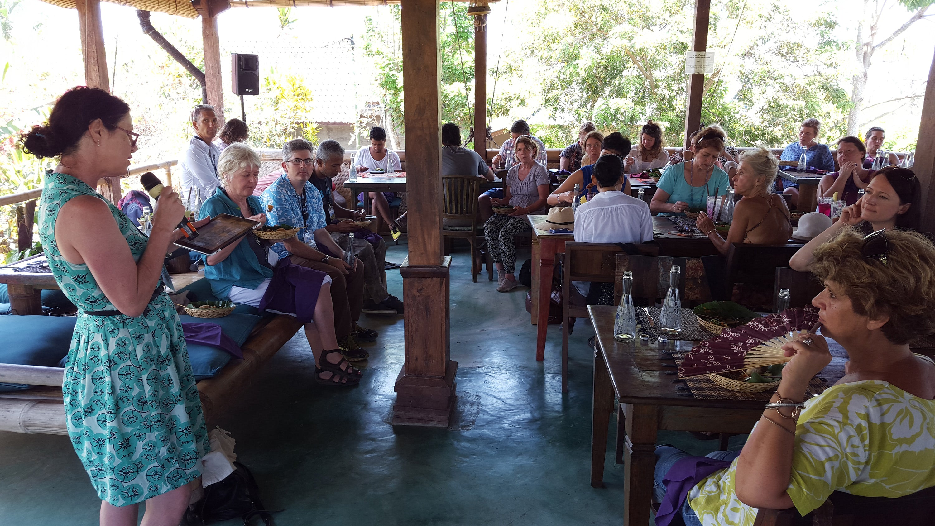 Jane Harrison at the special Jalan Jalan event at the 2015 Ubud Writers & Readers Festival