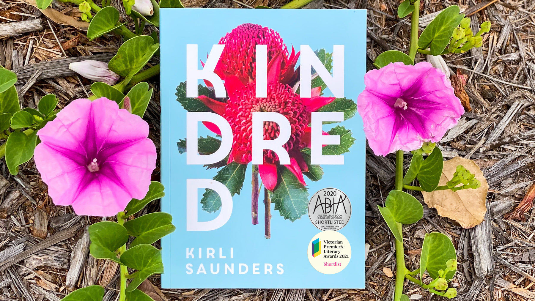 Kindred by Kirli Saunders shortlisted in the Victorian Premier's Literary Awards