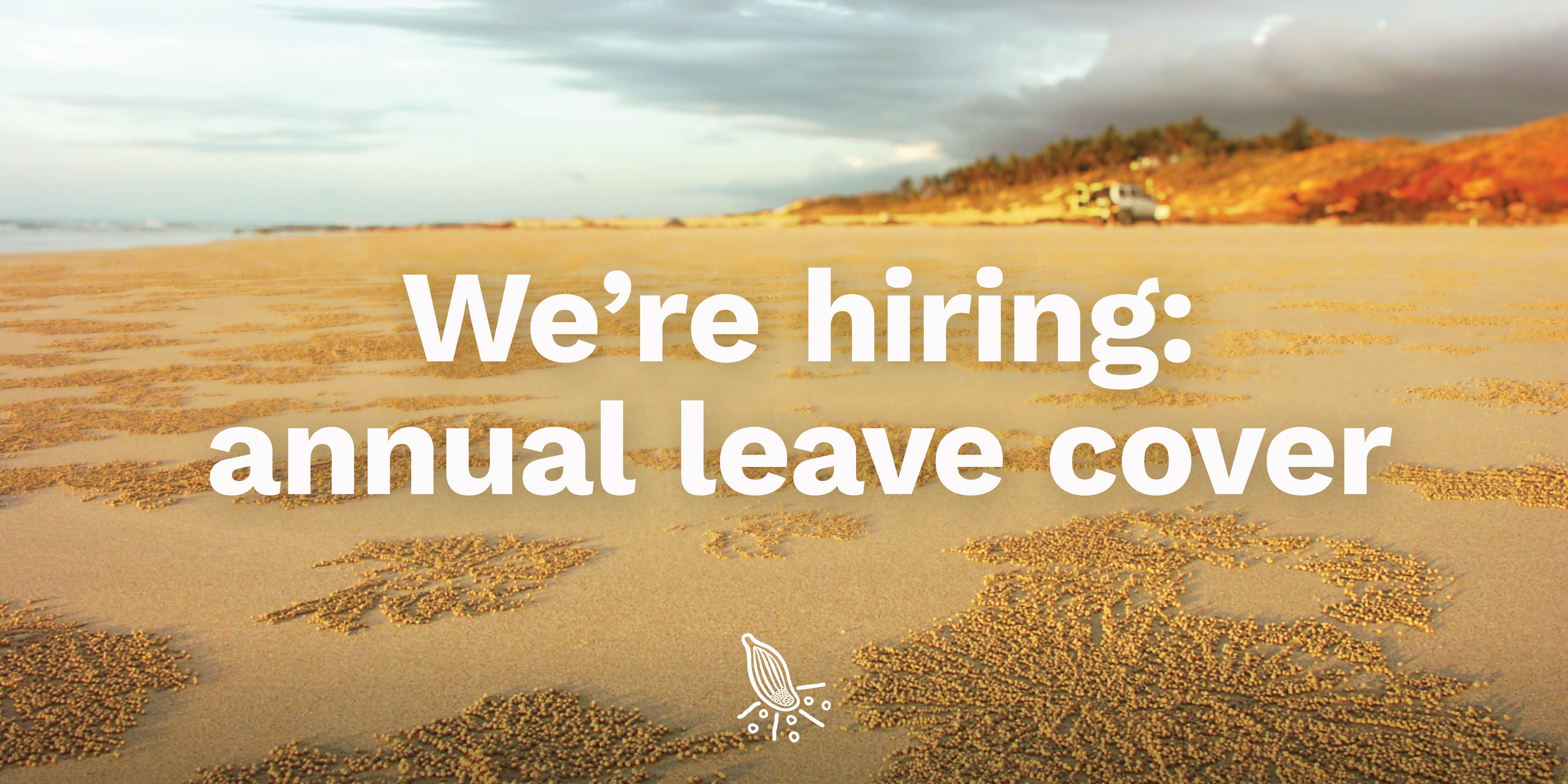 We're hiring: annual leave cover – Acting Marketing Manager
