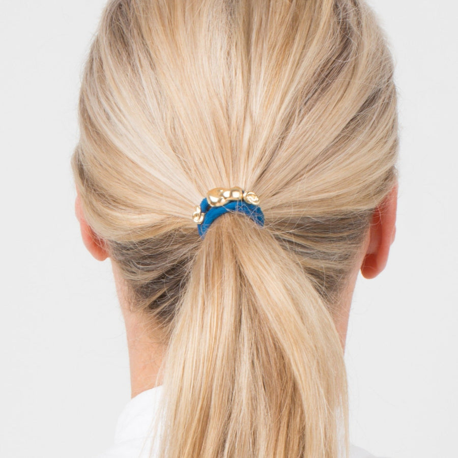 Hair Tie Metal Details 3 pack