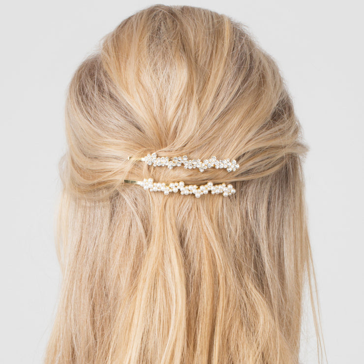 Hair Slider Pearls