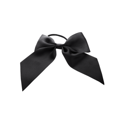 Silk Bow Big Hair Tie
