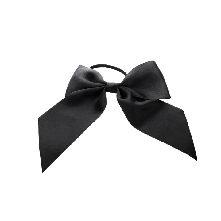 Hair Tie Silk Bow Big