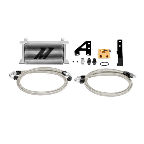 Mishimoto 15 Subaru STI Thermostatic Oil Cooler Kit - Silver