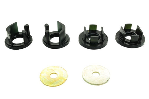 Whiteline 08+ Subaru WRX Hatch / 08-09 Subaru STi Rear Diff Mount Inserts positive power kit