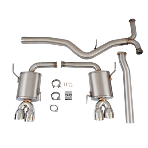 Mishimoto 2015 Subaru WRX 3in Stainless Steel Cat-Back Exhaust