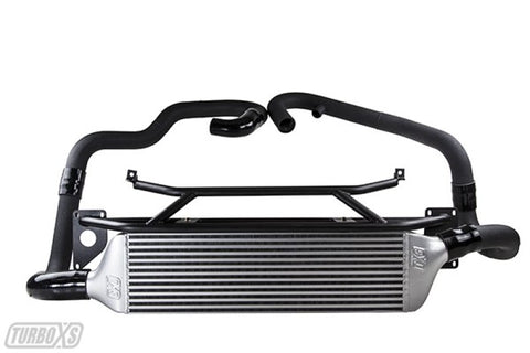 Turbo XS FMIC 2015-2017 Subaru STi - Wrinkle Black Pipes