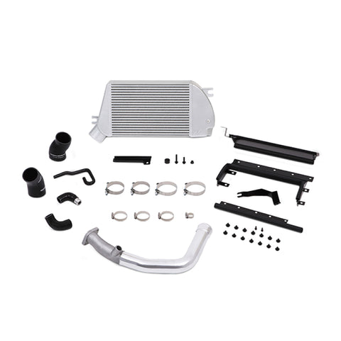 Mishimoto 2015 Subaru WRX Top-Mount Intercooler Kit - Powder Coated Silver & Polished Pipes