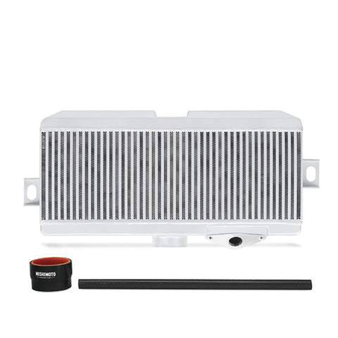 Mishimoto Subaru 08-15 WRX STi Top-Mount Intercooler Kit - Powder Coated Silver & Black Hoses