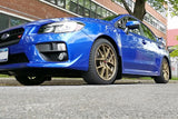 Rally Armor 15+ Subaru WRX & STi Sedan Only UR Black Mud Flap w/ Blue Logo