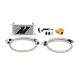 Mishimoto 08-14 WRX/STi Thermostatic Oil Cooler Kit - Silver