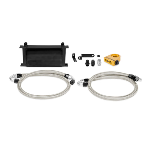 Mishimoto 08-14 WRX/STi Thermostatic Oil Cooler Kit - Black