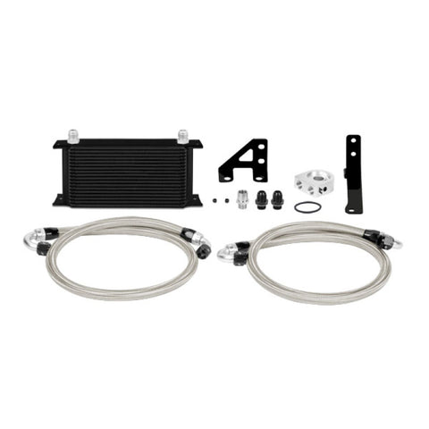 Mishimoto 15 Subaru STI Thermostatic Oil Cooler Kit - Black