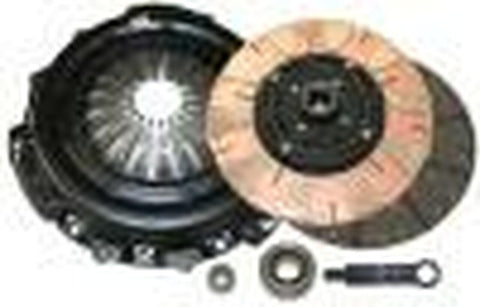 Comp Clutch 04-11 Subaru STI 2.5L T Stage 3 - Full Face Dual Friction Clutch Kit