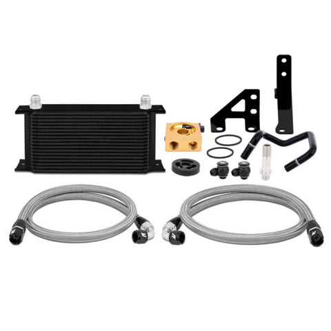 Mishimoto 2015 Subaru WRX Thermostatic Oil Cooler Kit - Black