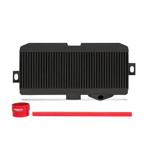 Mishimoto Subaru 08-15 WRX STi Top-Mount Intercooler Kit - Powder Coated Black & Red Hoses