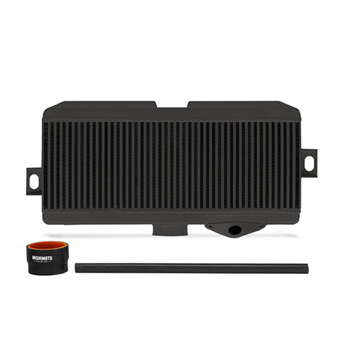 Mishimoto Subaru 08-15 WRX STi Top-Mount Intercooler Kit - Powder Coated Black & Black Hoses