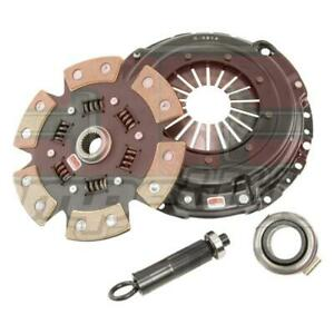 Comp Clutch Subaru 06-16 WRX 2.5L Push Style 230mm Stage 4 6 Pad Ceramic Clutch Kit