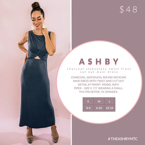 Ashby - Front Twist and Cut Out Maxi Dress
