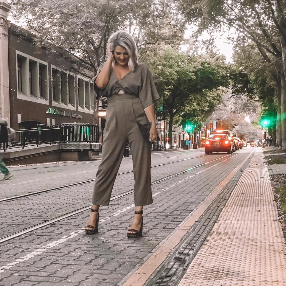 Elliott - Olive Green Jumpsuit