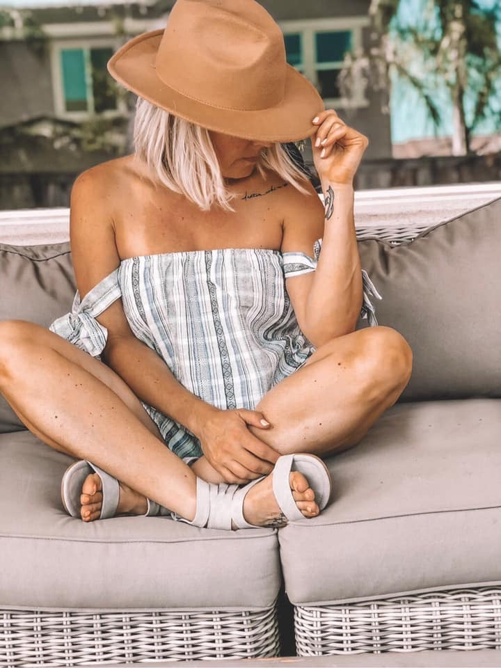 Inez - Off The Shoulder Romper
