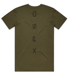 Mens Camo Tee Second Gen, Black Print