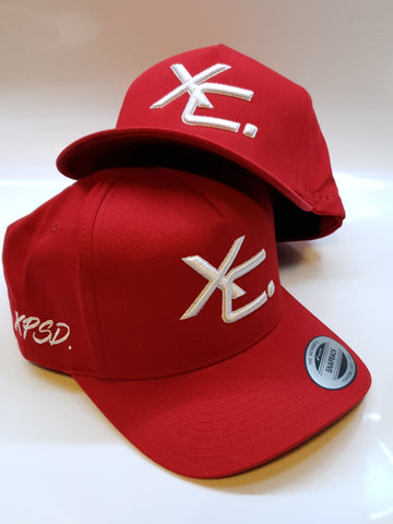 110 A-Frame Snapback Red/White