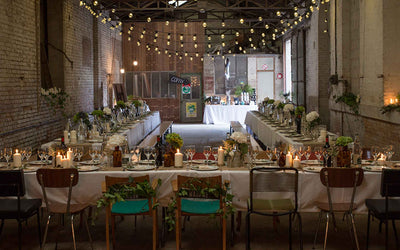 Urban Wedding Light Ideas