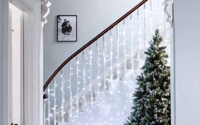Hallway Christmas Light Ideas