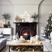 2m Eucalyptus & White Berry Christmas Garland