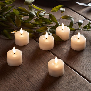 6 TruGlow® LED Tea Lights