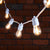 5m 10 Warm White LED Ultimate Flex Festoon Lights White Cable