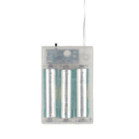 10 Silver Mini Maroq Battery Fairy Lights