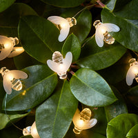 20 Bee Outdoor Micro Fairy Lights