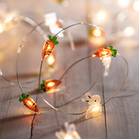 20 Easter Micro Battery Fairy Lights
