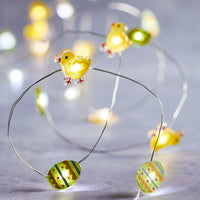 20 Chick & Egg Micro Fairy Lights