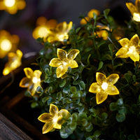 20 Yellow Flower Outdoor Micro Fairy Lights